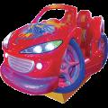 Crazy Wheels Kiddie Ride