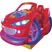 Crazy Wheels Kiddie Ride