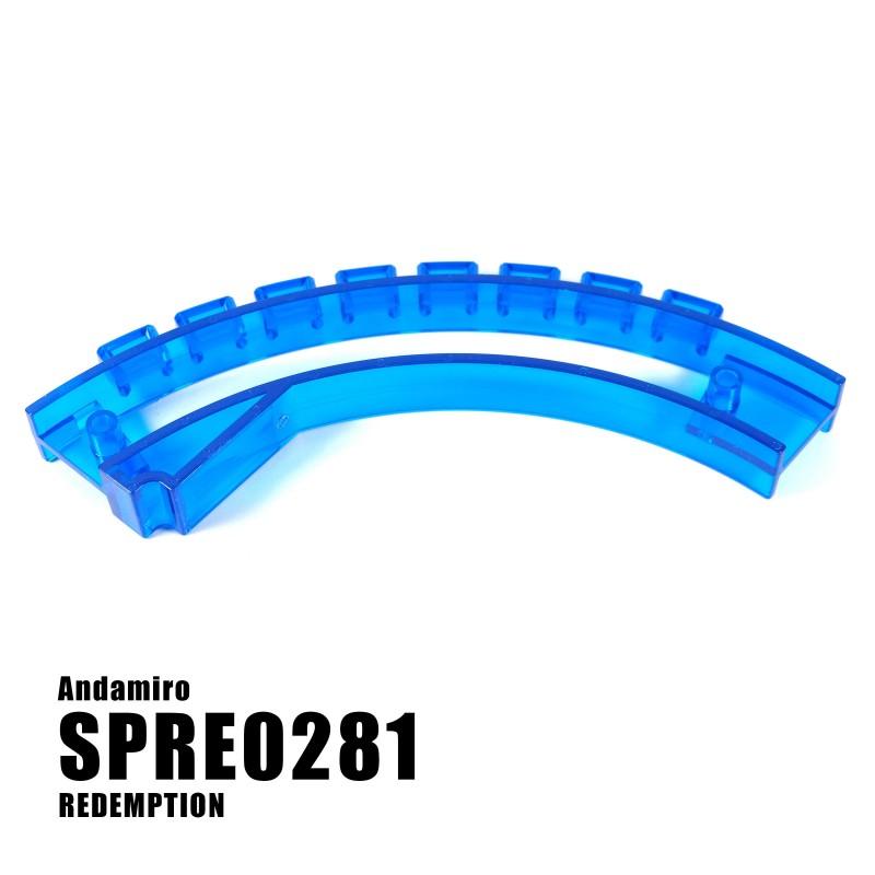 Circlerama Top Disk Blue Lamp Cover