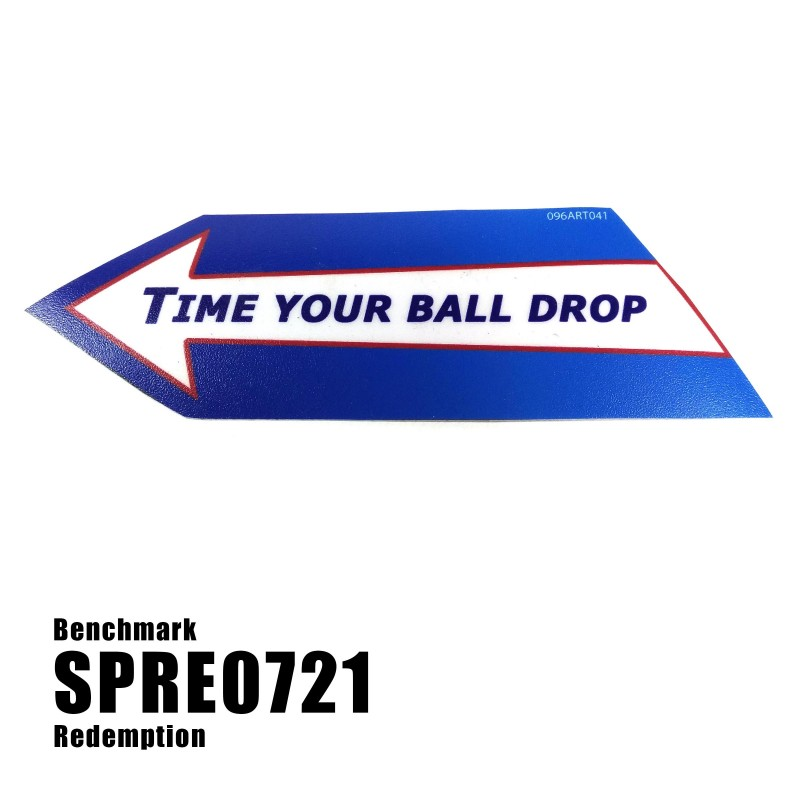 Blue Blazes / Blue Blast - Ball Arrow Decal